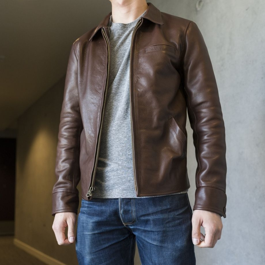 Gustin Leather Jacket Leather Jacket Men Best Smart Casual Outfits