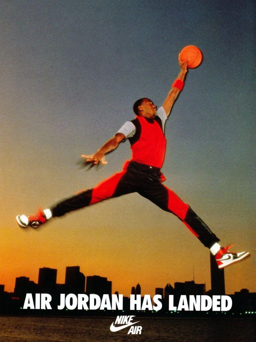 nike Air Jordan classic iconic ad Pub Pinterest Air