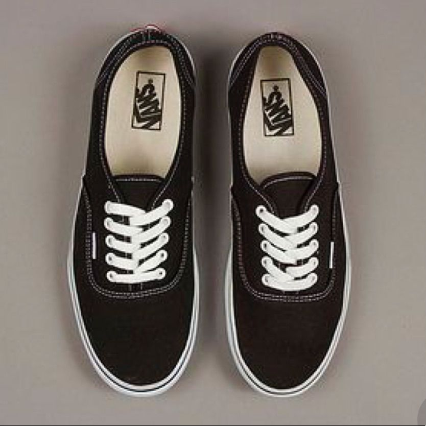 Vans Black Size 9   Vans shoes, Shoes