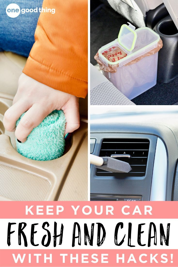 17 Brilliant Hacks That Will Make Cleaning Your Car A Breeze