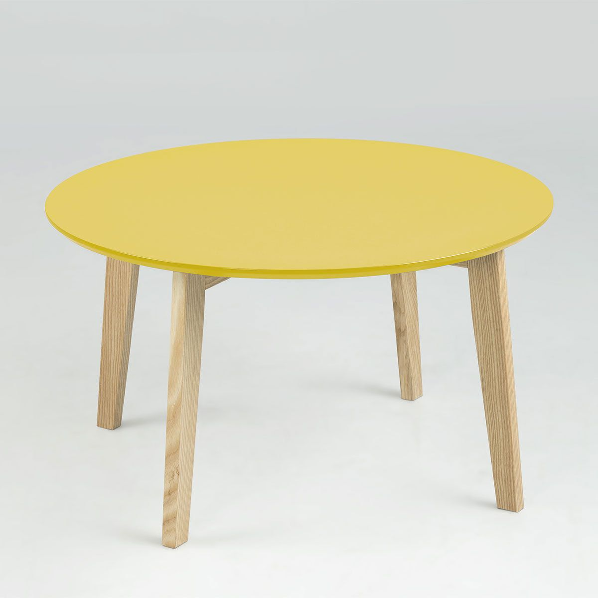 Table Ronde 80 Cm Conforama Table Basse Table Basse Ronde Lemon Curry 80 Cm Table