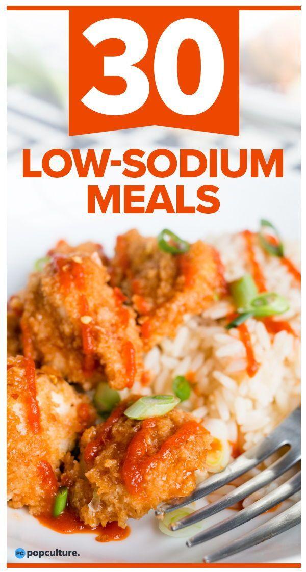 30 Low-Sodium Meals
