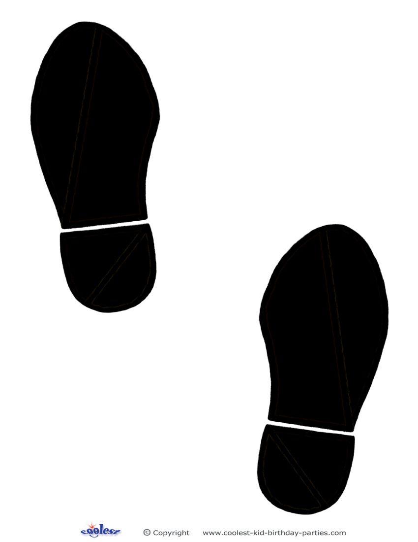 Printable Black Footprints Coolest Free Printables | VBS ...
