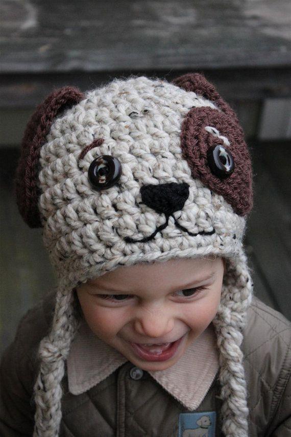 Hund - Mütze gehäkelt | marille maus-manufaktur | Pinterest | Wolle ...