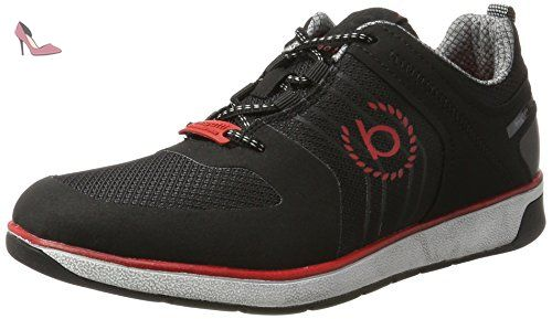 322307015459, Sneakers Basses Homme, Noir (Black/Black), 46 EUBugatti