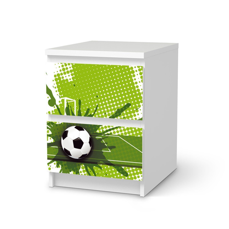 ⚽Fußballzimmer   Soccer Room   Dekor-Folie für IKEA Malm 2 ...