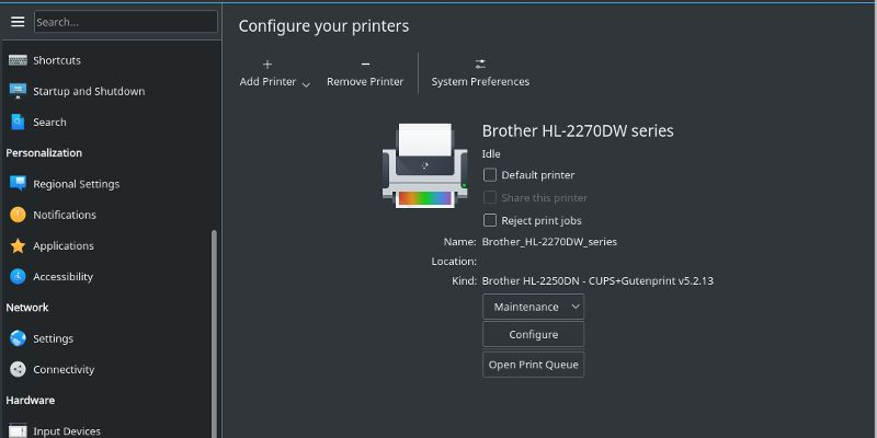 How To Set Up A Printer In Linux Linux Printer Learning