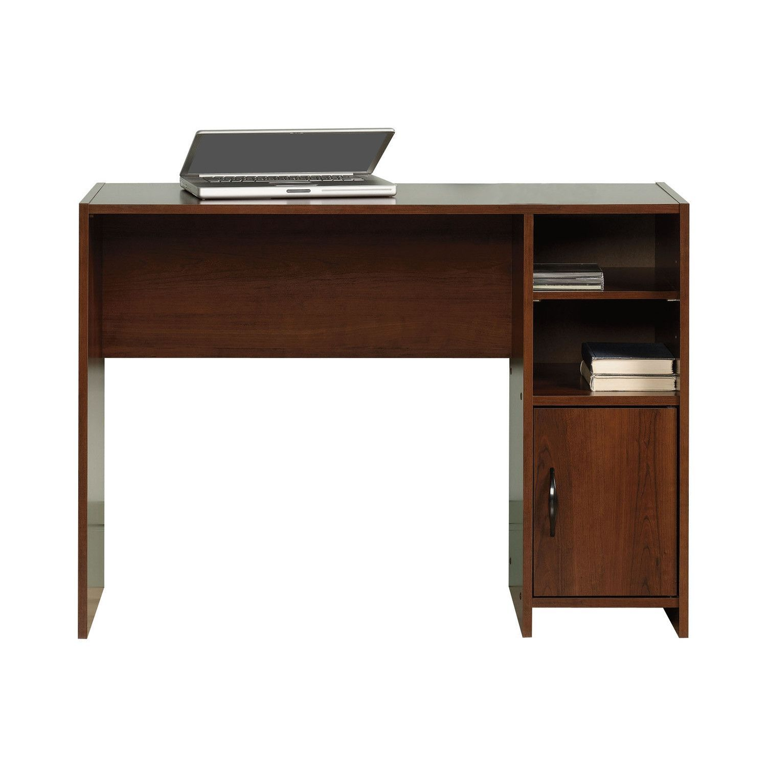 Made In USA Modern Basic Writing Computer Desk In Cherry