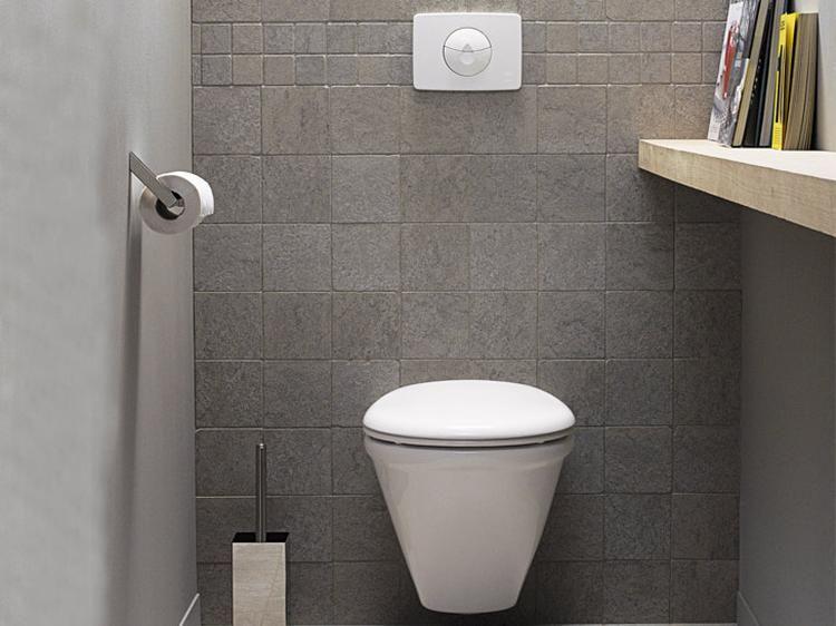 mooi eenvoudig ontwerp voor het kleinste kamertje