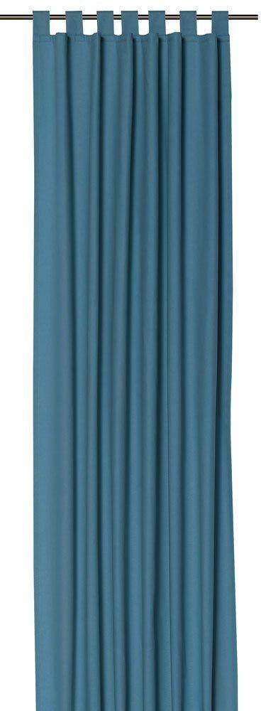 Tom tailor 580911 rideau passants t dove bleu p trole - Rideau bleu petrole ...