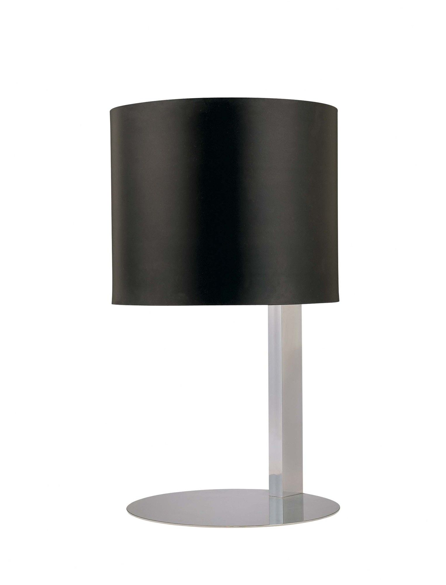 George Kovacs Lamps Table Lamp With Glass Diffuser With Black Painted Metal Shade Glass Diffuser Table Lamp Lamp