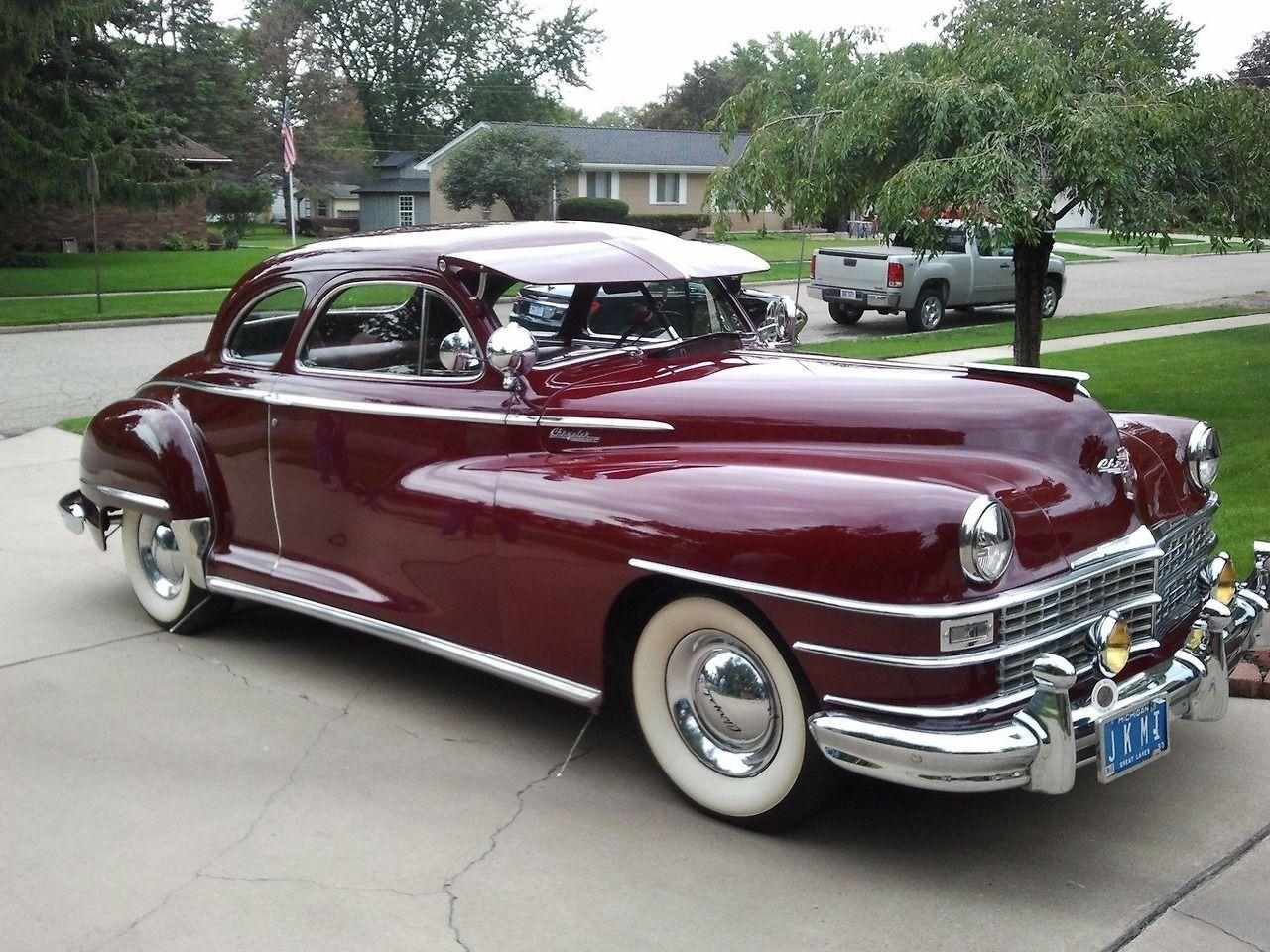 1947 Chrysler Saratoga Club Coupé | Automotive | Pinterest
