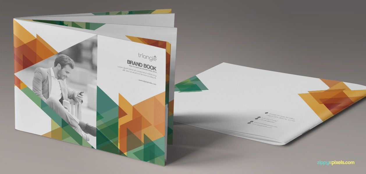 brand book template for branding guidelines zippypixels