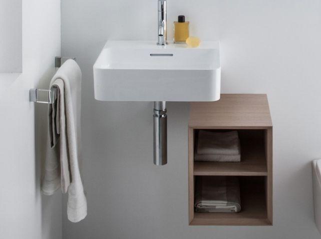 20 Meubles Pour Une Petite Salle De Bains Elle Decoration Petite Salle De Bain Petit Lavabo Deco Toilettes