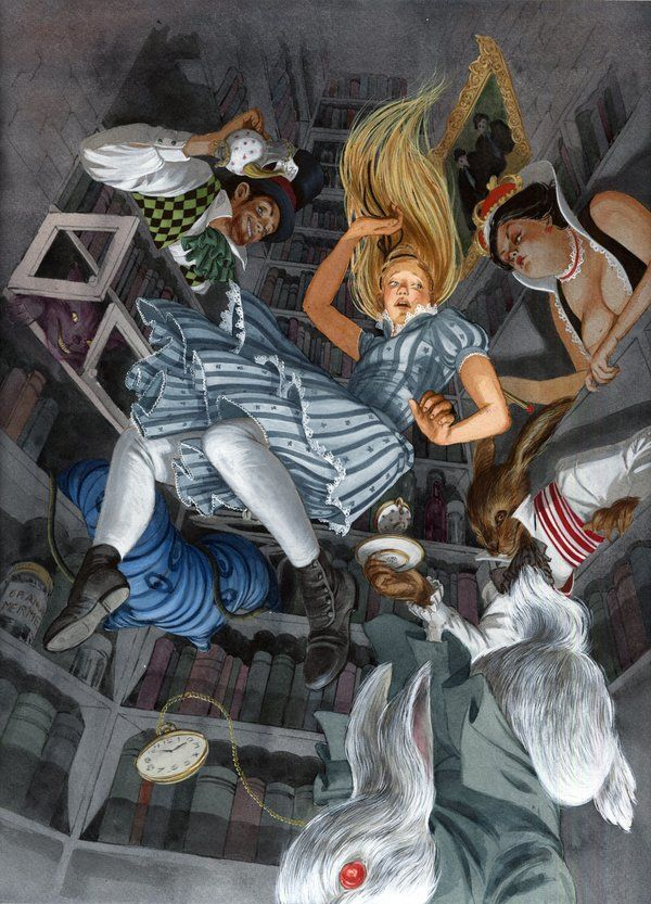 Down the Rabbit Hole by vdelrey.deviantart.com on @DeviantArt