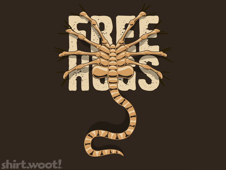 Free Hugs Facehugger T Shirt | getDigital