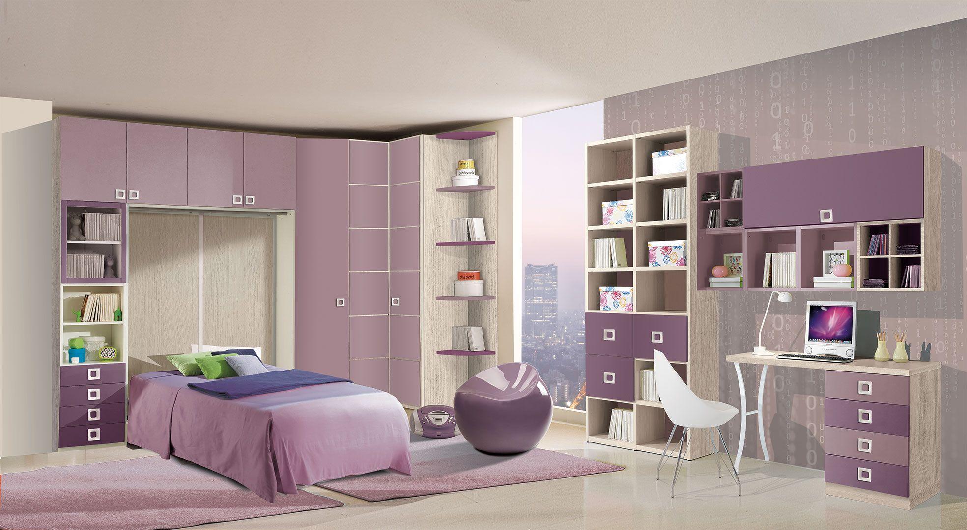 Cameretta Trasformabile - CM54 - Giessegi | Bedroom kids | Pinterest ...
