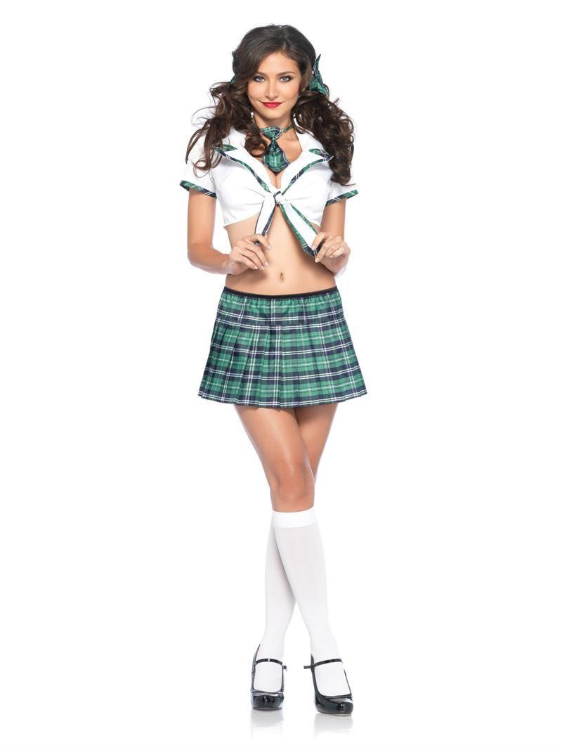 Seksi miss kostum za noč čarovnic za noro čarovnic - noga-5832