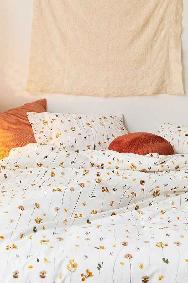 Photo of Pressed Buttercup Duvet Cover Set