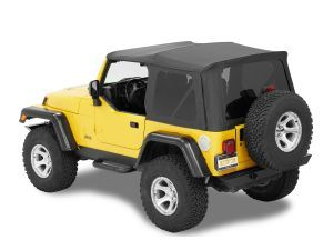 Bestop Supertop Nx Soft Top With Tinted Windows Without Upper