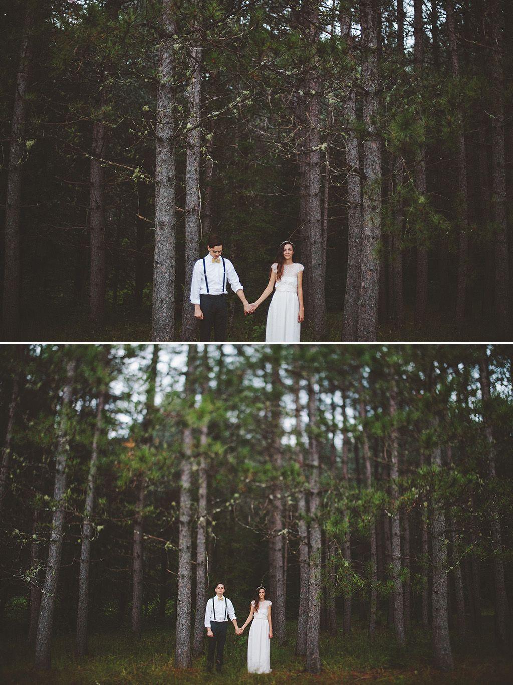 Travel Wedding Photographer Diy Woodland