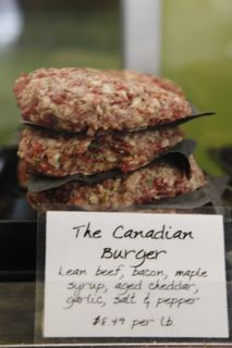 Gotta get one of these - oh, yum! Find them at Rowe Farms, Ontario's finest artisan meat shops where they're so particular, they raise all their own meat and poultry.