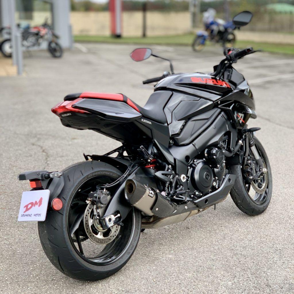 A Closer Look at the 2021 Suzuki Katana in 2020 Suzuki
