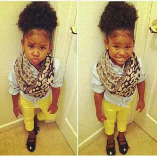 Fashion style Little Dope girls with swag for woman