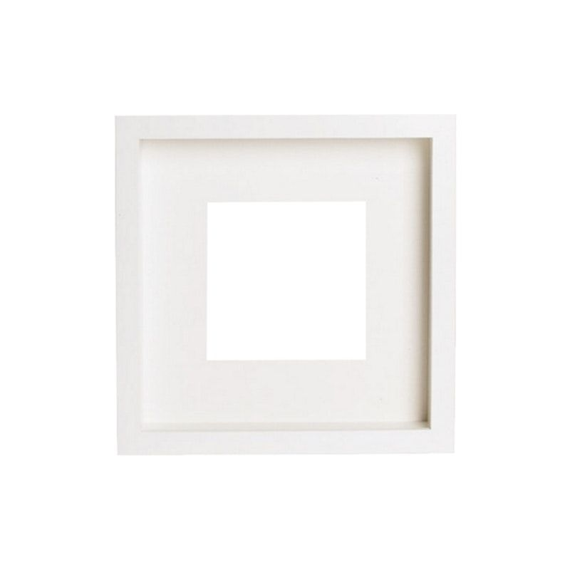 12 Inch Square Wooden Frame White Frames By Hipvan Hipvan White Frame White Picture Frames Frame