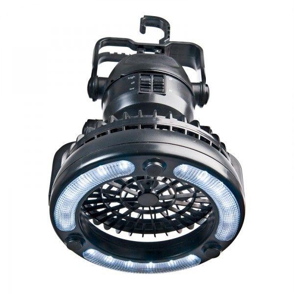 18 LED Light Fan-Ultra Bright Lantern Camping Tent Light Hiking Fishing Out Lamp