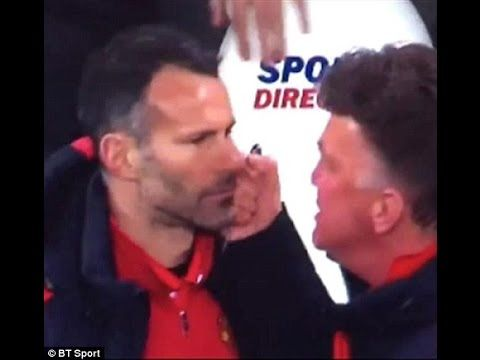 Louis van Gaal funny reaction Newcastle United 0 1 Manchester United