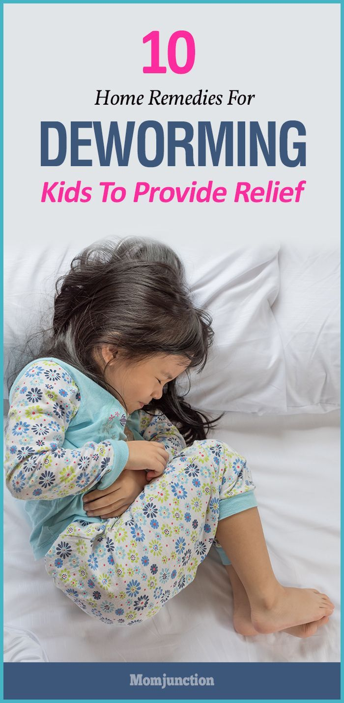 How to remove pinworms in a child at home