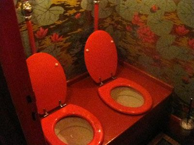 Too Much Togetherness. Singer Meghan Trainor And Hubby Have Twin Toilets