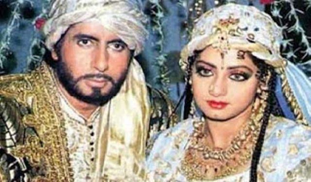Amitabh Bachchan Sridevi May Come Back In Khuda Gawah Sequel Bollywood Actress Vintage Bollywood Bollywood Actors