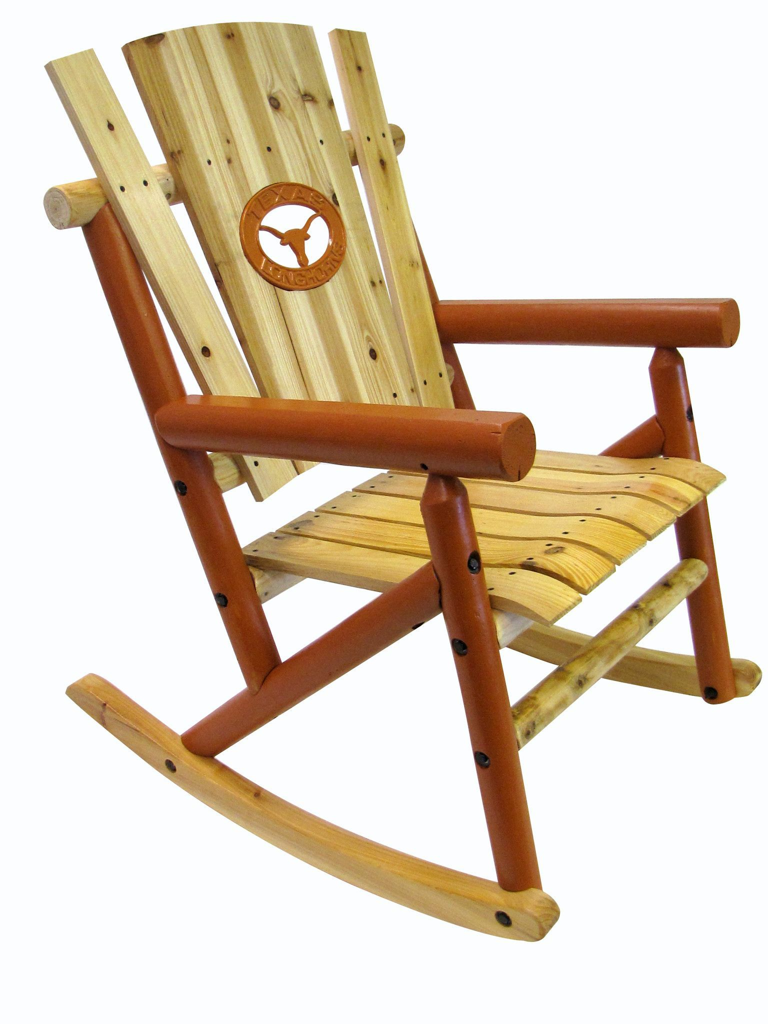 Leigh Country Rocking Chair with Texas Longhorn Medallion  sc 1 st  Pinterest & Leigh Country Rocking Chair with Texas Longhorn Medallion | Rocking ...