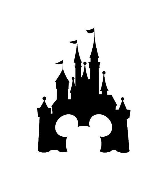 Disney Castle Decal Disney Decal Disney Castle Sticker Disney