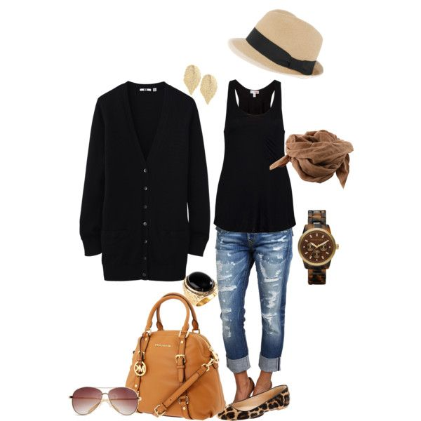 boyfriend casual weekend outfit. Love everything about this look. The only problem ....it will probably to warm for the sweater.