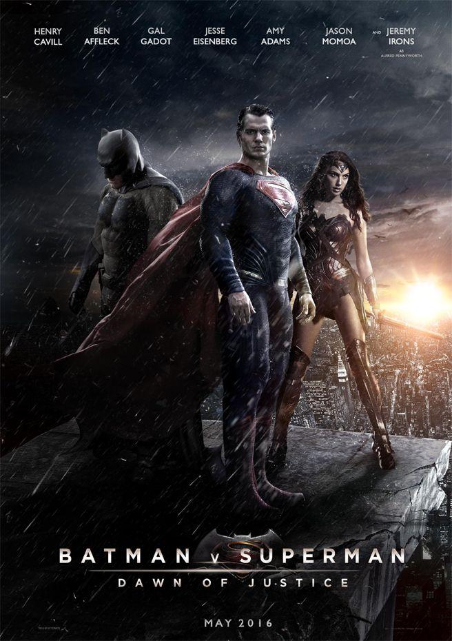 The New Batman Vs Superman Movie Cover Coming Out In 2016 Batman Vs Superman Movie Batman V Superman Dawn Of Justice Batman Vs Superman Movie Poster