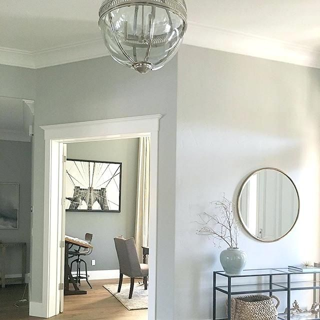 Executive Light Gray Paint Color From Behr F40X About ...
