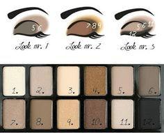 Cómo Maquillarte con la Paleta de Sombra con Colores Nudes