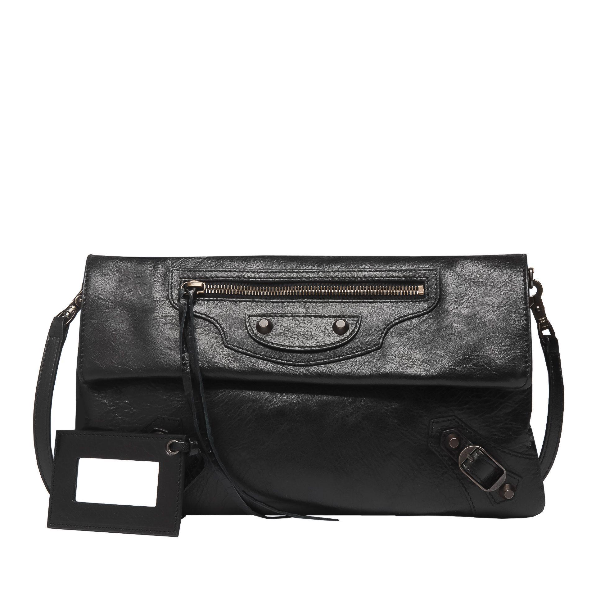 7bcf2d4409b4 Balenciaga Classic Envelope Strap Balenciaga - Clutches Women color Black - Handbags  Balenciaga