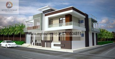 house design front - Modern Elevations Of Houses