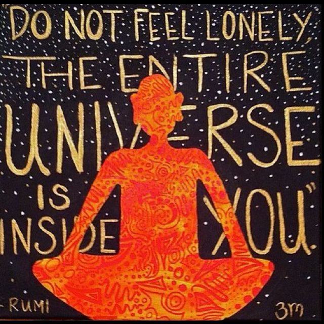 sweet Rumi reminder