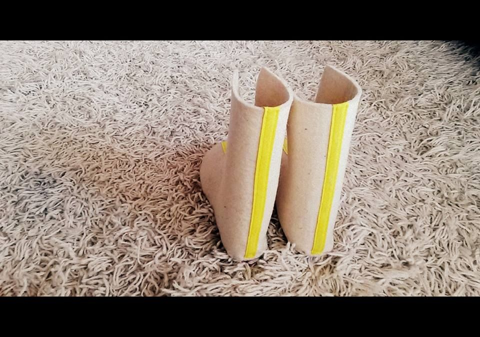 Prototip botí de feltre Xisqueta by Vanesa Freixa