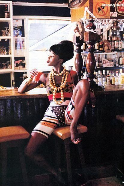 Naomi Campbell #almostvintage #supermodel
