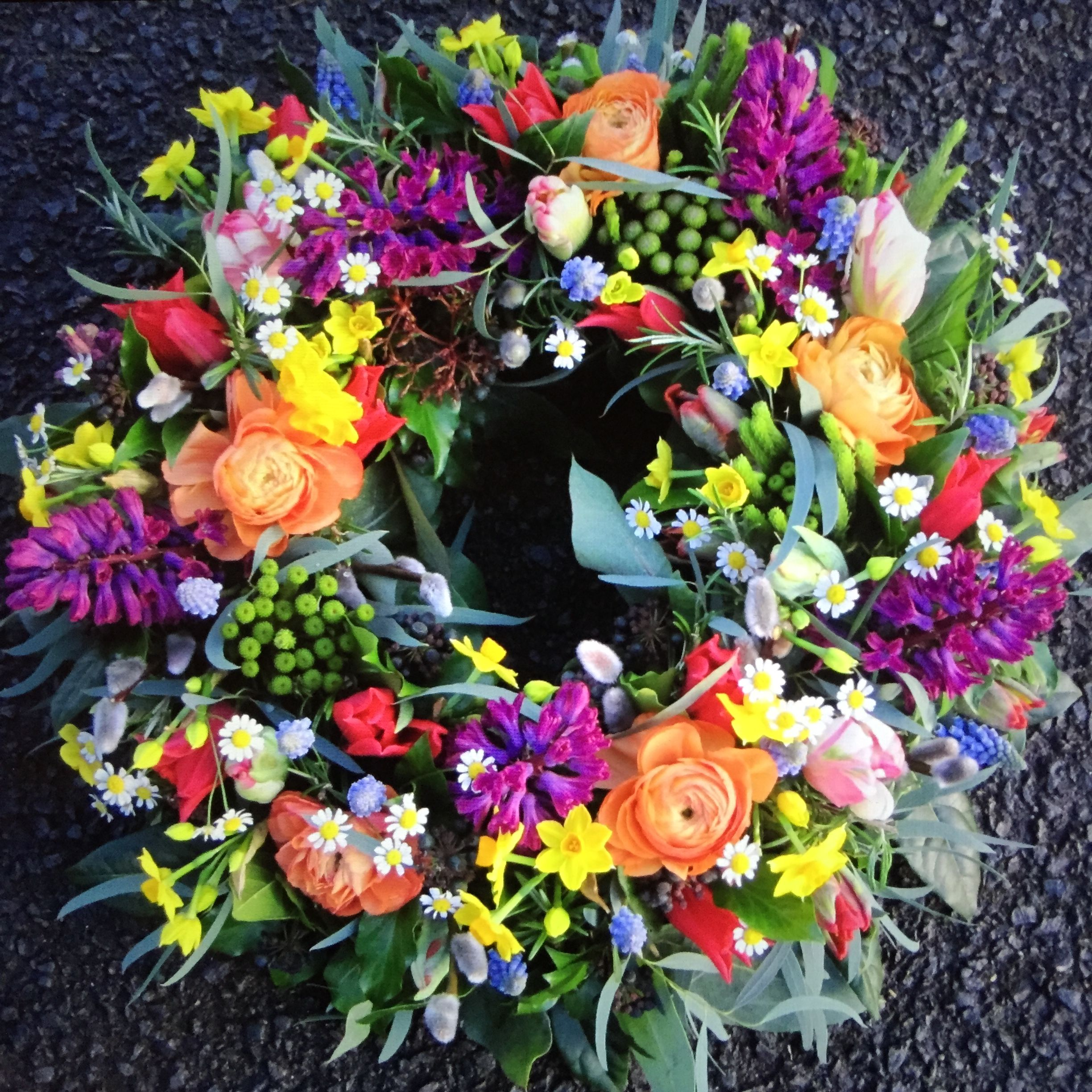 Funeral flowers for dad by jane farthing daphne doreen flower funeral flowers for dad by jane farthing izmirmasajfo