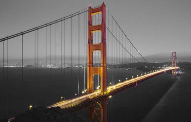 Ikea Klamby Picture 55 X 39 188 Golden Gate Bridge