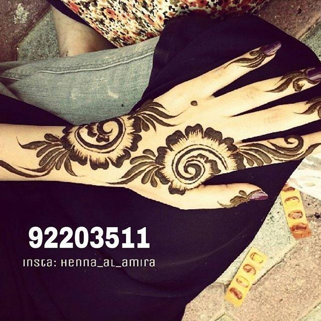 Instagram Photo By نقش Henna Artist حناء اميرة Jun 29 2016 At 1 42pm Utc Henna Floral Henna Designs Henna Designs Hand