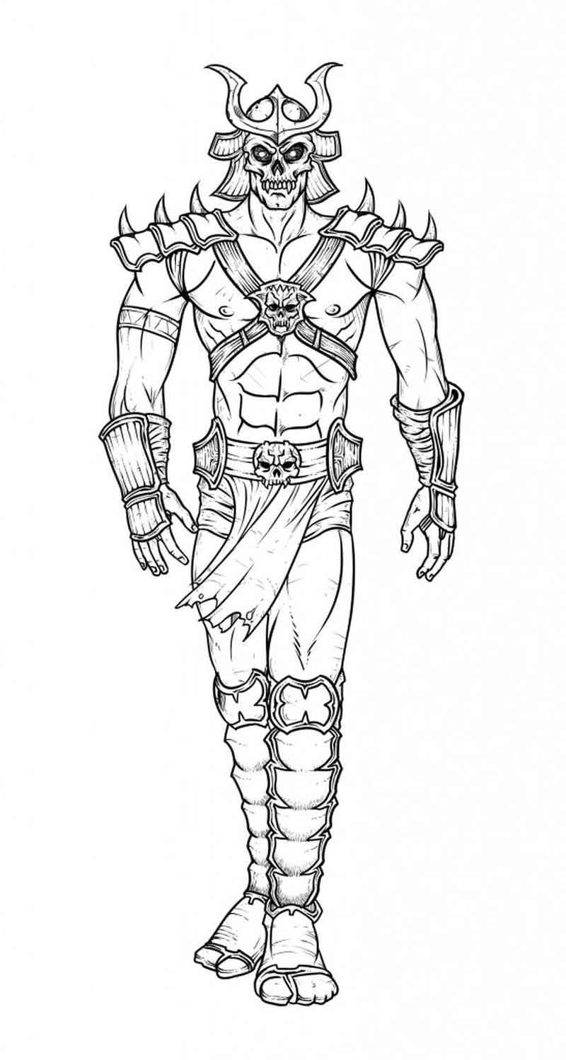 Free Printable Mortal Kombat Coloring Pages Coloring Pages Mortal Kombat Mortal Kombat Art