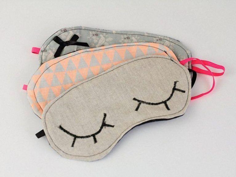 tout neuf bas prix les ventes chaudes Tutoriel DIY: Coudre soi-même un masque de nuit via DaWanda ...
